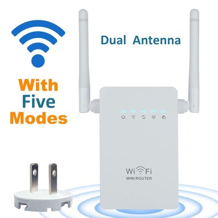 Long Range Wireless Router - 300Mbps Wireless-N Range Extender WiFi Repeater Signal Booster 802.11n/b/g Network Router