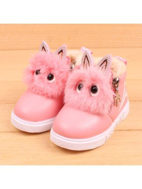 Product Image Children Fashion Boys Girls Sneaker Boots Kids Warm Baby  Casual Shoes 9d7952fed