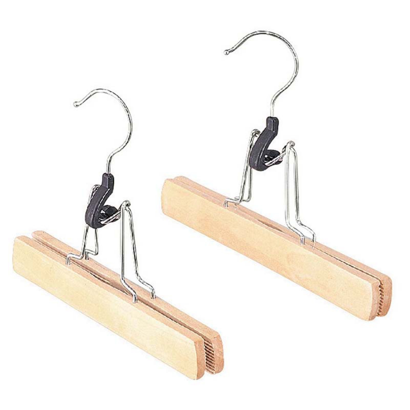 Whitmor 6026-310 Natural Wood Slack Hanger