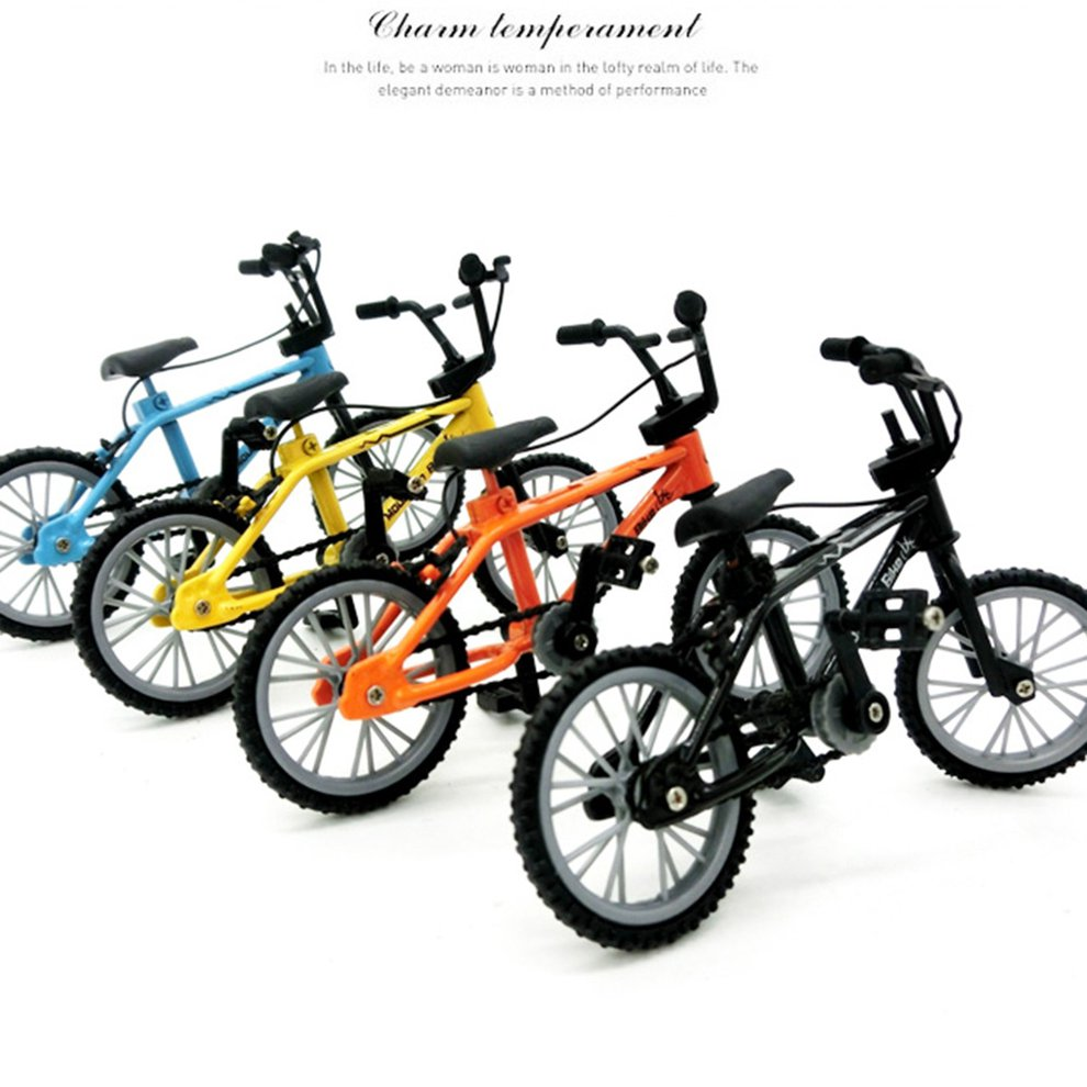 Alloy Finger BMX Functional Kids Bicycle modle Finger Bike Toys Gift ZX
