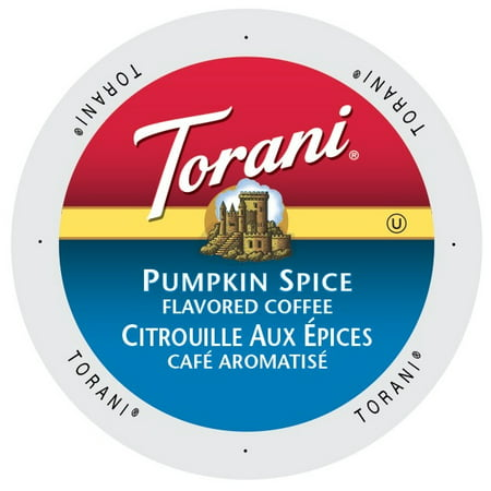 Torani Coffee Pumpkin Spice, Single Serve Cup for Keurig K-Cup Brewers, 24 Count