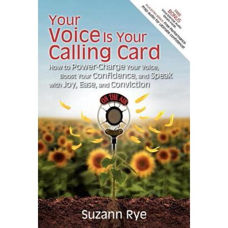 Your Voice Is Your Calling Card - eBook ()