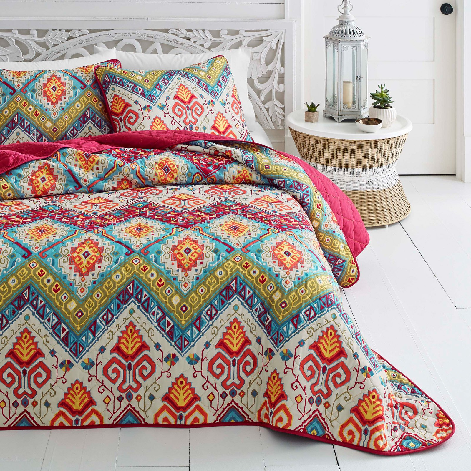 Azalea Skye Moroccan Nights 2 Piece Quilt Set, Twin by Revman International