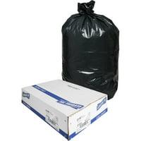 Genuine Joe Heavy-Duty Trash Can Liners, 33 gal, 100/box, GJO01533