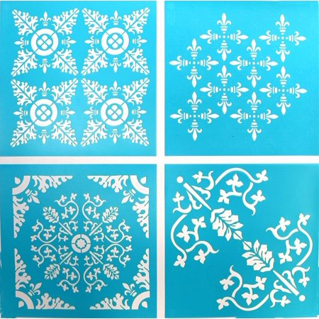 Vintage Decor Stencil, 33561 Fleur De Lis, use Fleur furniture 875 specifically Ornamental Borders Sheets 10 11 De 12 13 stencils Decor 11H Scrolls Victo.., By Martha Stewart Crafts Ship from US
