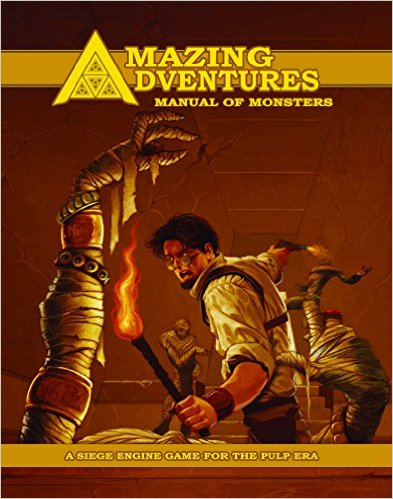 Amazing Adventures Manual of Monsters Hardcover? August 1, 2015