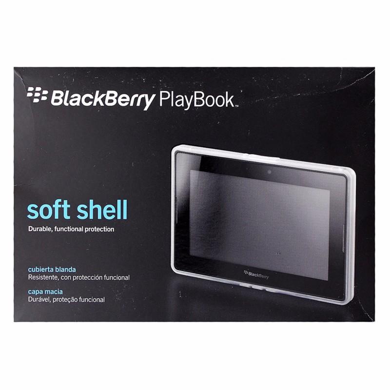 BlackBerry Soft Shell Case for BlackBerry PlayBook - White / Clear