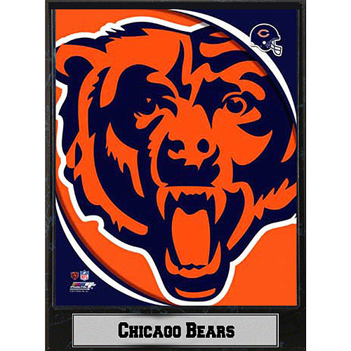 NFL Chicago Bears Photo Plaque, 9x12