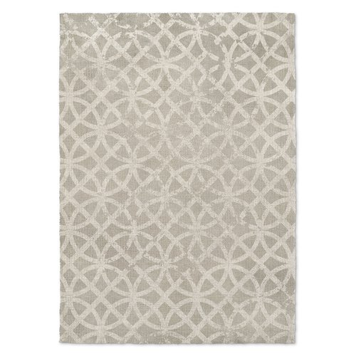 Gracie Oaks Vasques Gray Area Rug by