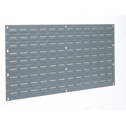 AKRO-MILS 30136 Louvered Steel Panel for Mounting AkroBins, Grey
