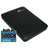 Avolusion 500GB USB 3.0 Portable External PS4 Hard Drive (PS4 Pre-Formatted) HD250U3-Z1 - 2 Year Warranty