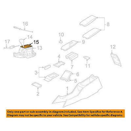 CHRYSLER OEM Console-Shift Indicator 4779396AC