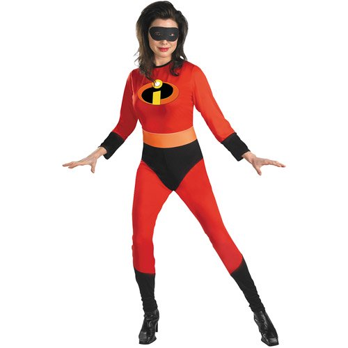 The Incredibles Womens Mrs Incredible Adult Costume Walmart Com Walmart Com
