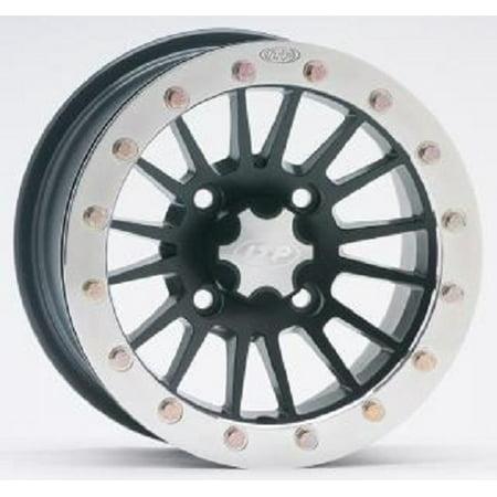 Itp Sd Dual Beadlock Machined Black Atv Wheel Front Rear 14X7 4 115    5 2
