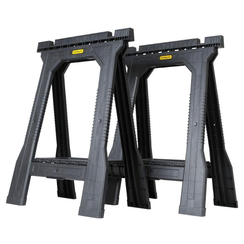 Stanley 31 in. Folding Sawhorse JR (2-Pack) by Stanley Consumer Tools