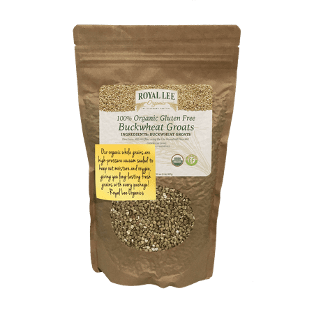 Royal Lee Organics by Standard Process Organic Buckwheat Groats 2 pound bag