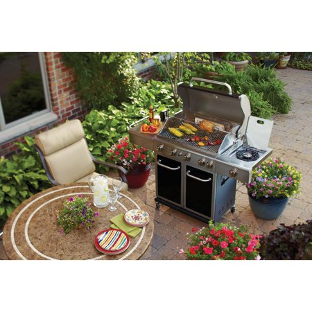 Better Homes And Gardens 5 Burner Gas Grill Black