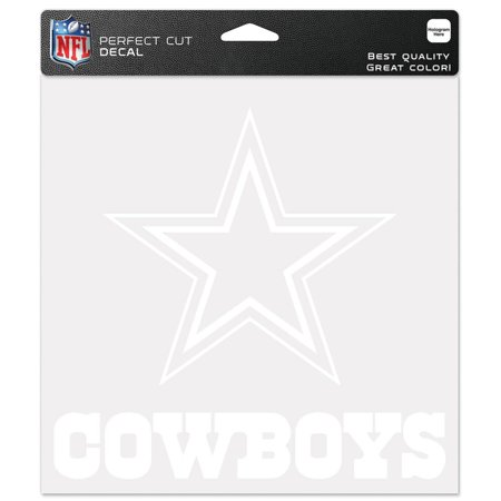 Dallas Cowboys Official NFL 8 inch  x 8 inch  Die Cut Car Decal by Wincraft for $<!---->