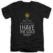 Chrisley Knows Best Gold Mens V-Neck Shirt