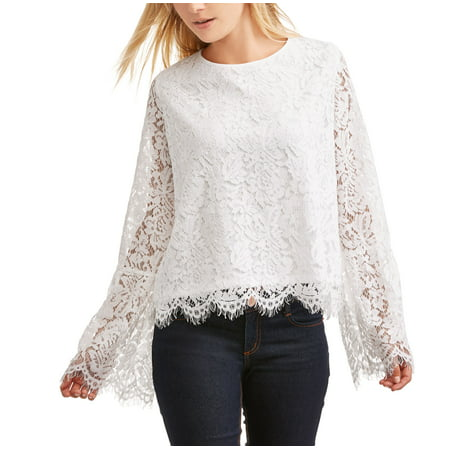 Lifestyle Attitude Women's All Over Lace Blouse