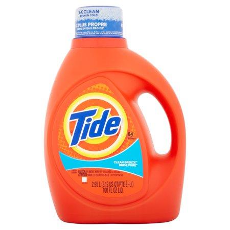 Tide Clean Breeze Scent Liquid Laundry Detergent Choose