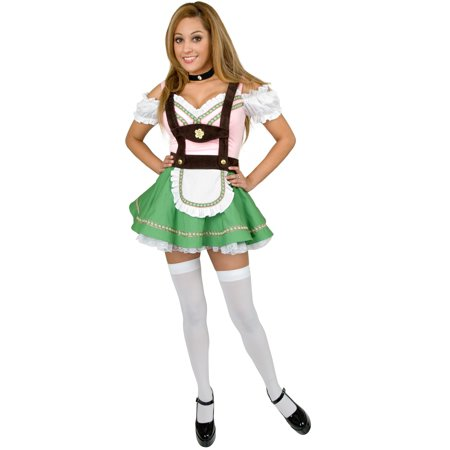 Women's Bavarian Maiden Beer Girl Costume - German Beer Girl Costume