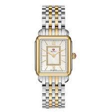 Michele Deco II Mid Two-Tone, Diamond Dial Watch ()