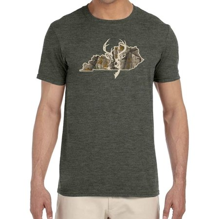 J2 Sport Kentucky Camouflage Deer Head Unisex T-Shirt ()