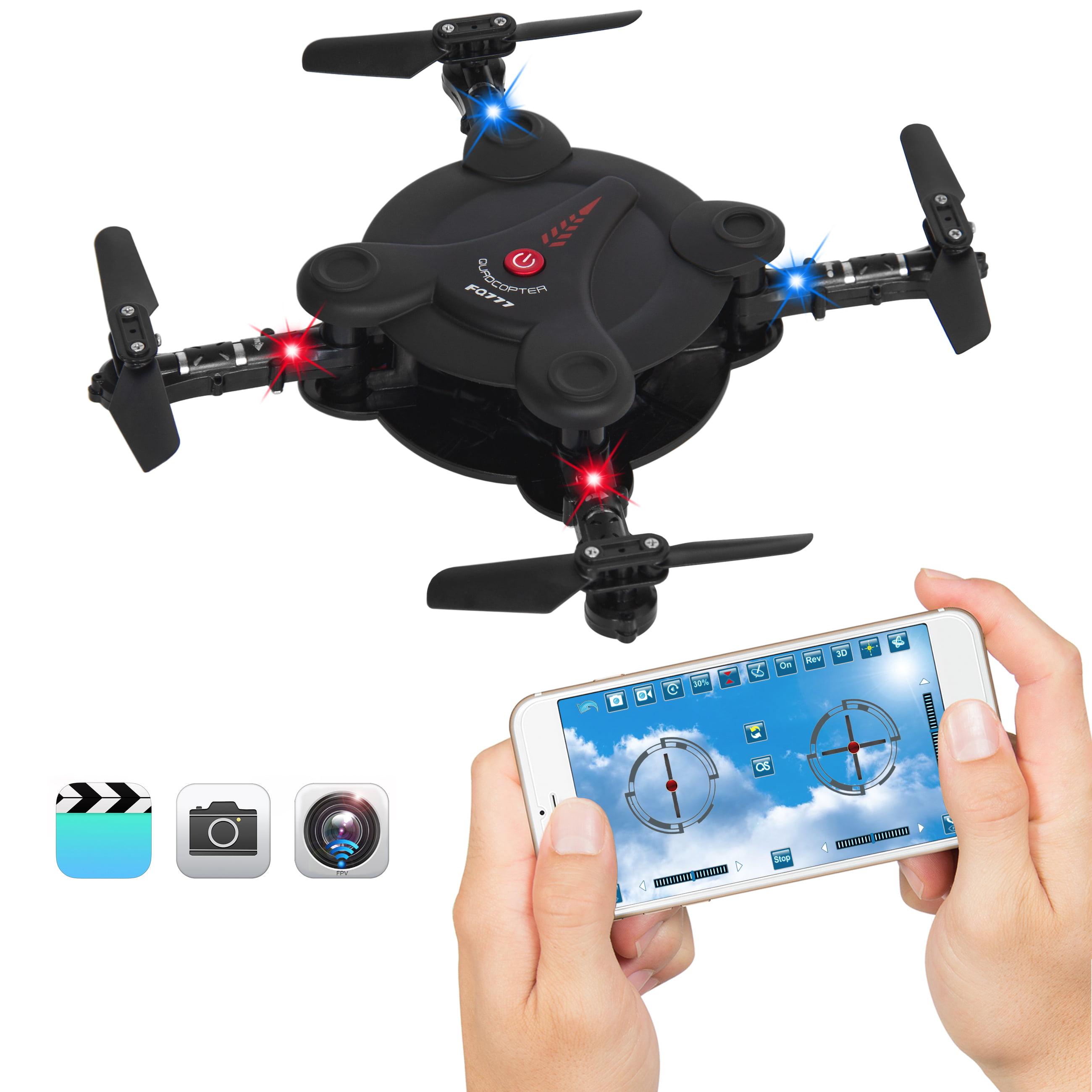 Best Choice Products Smart Phone Control Folding Pocket Mini Drone Gravity Sensor Wifi FPV... by