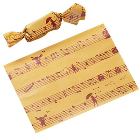 500PCS Wax Papers for Candy Caramel Candy Wrappers Twisting Candy Wrapping Papers, - Candy Wax