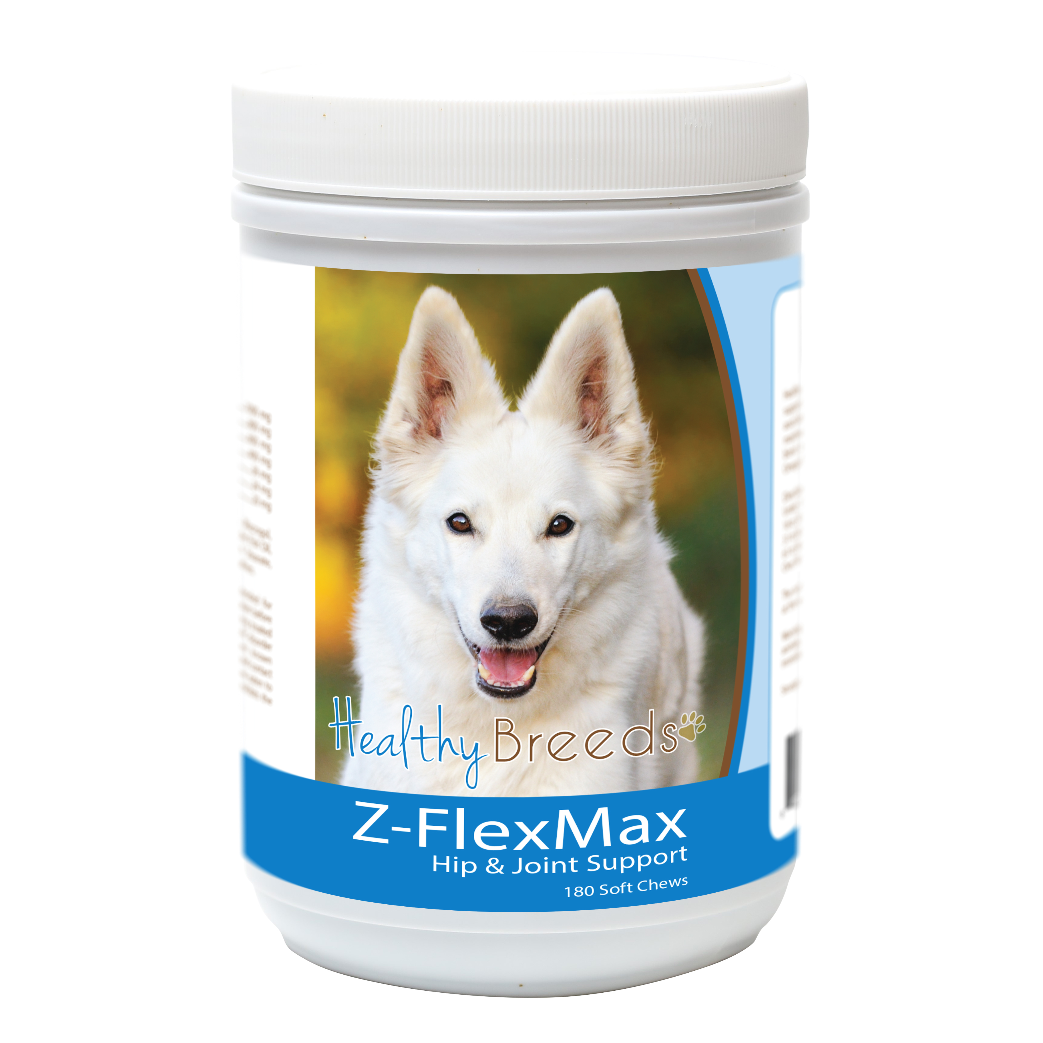 Healthy Breeds German Shepherd Z-Flex Max Dog Hip and Joint Support 180 Count