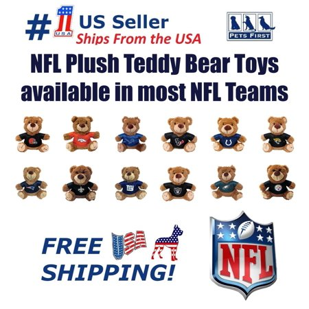 Dog Teddy Bear (Pets First NFL Buffalo Bills Plush Teddy Bear Toy. Team Jersey & inner SQUEAKER. For)