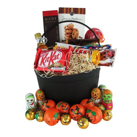 Gift Basket Ideas For Halloween (Gourmet Halloween Treats Gift)