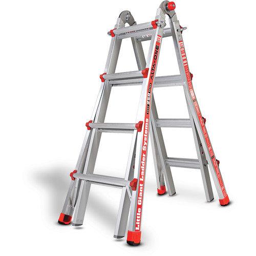 Little Giant Ladder Systems 17 ft Aluminum Alta-One Type 1 Multi-Position Ladder