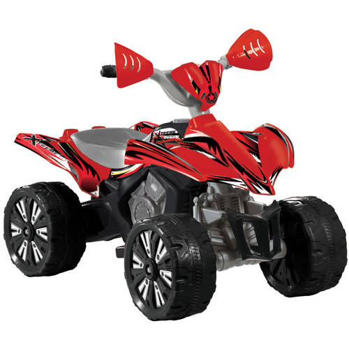 6V Xtreme Quad Battery-Powered Ride-On, Red