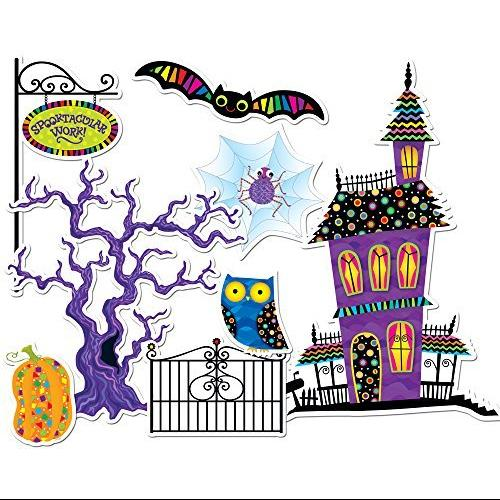 Creative Teaching Press Poppin' Patterns Spooktacular Bulletin Board Set (1490)