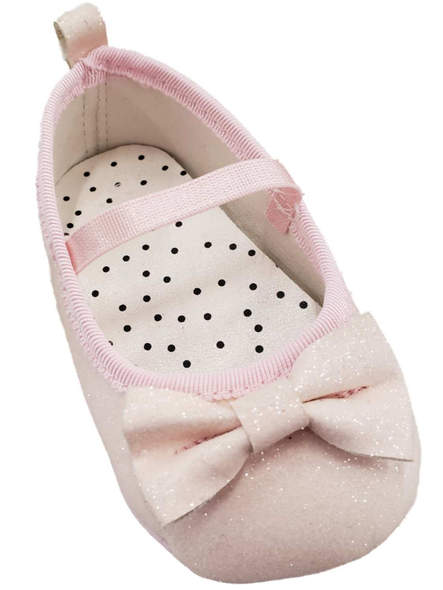 Carters Infant Girls Light Pink Bow