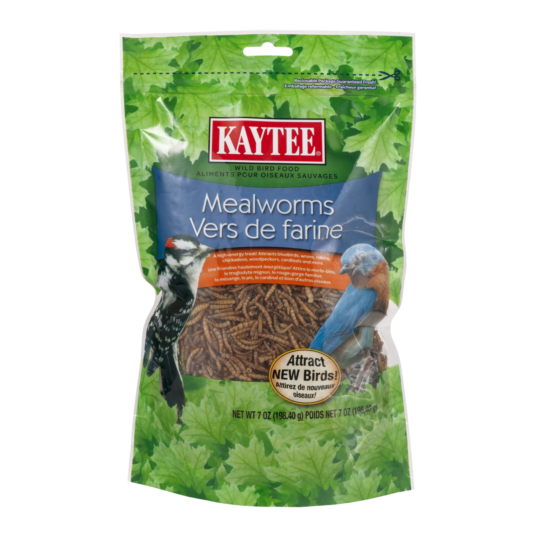 Kaytee Wild Bird Food Mealworms, 7.0 OZ