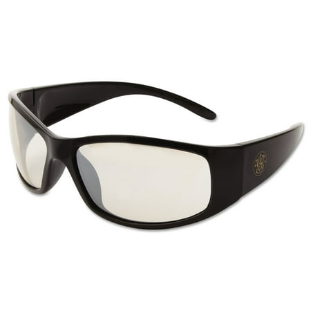 - Smith & Wesson Elite Safety Eyewear, Black Frame, Indoor/Outdoor Lens