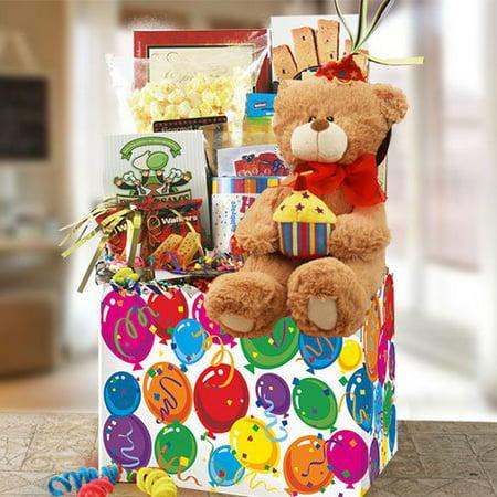 Birthday Surprise Gift Basket