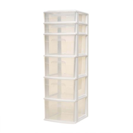 Homz 6 Drawer Medium Tower, Set of 1 (Smt Tower)