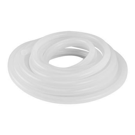 Soft Flexible Intense Heat Semi-Clear White Silicone Rubber Tubing for Food  and Beverage Applications - Inner Diameter 3/16
