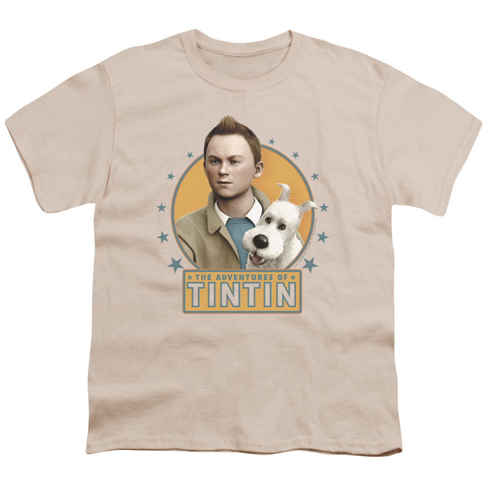 Tintin Buddies Big Boys Youth Shirt