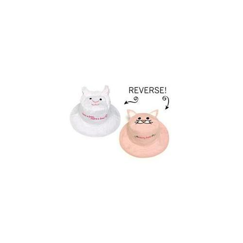 Luvali Convertibles LCKDSLLI Lamb-Kitten Reversible Kids Hat Large