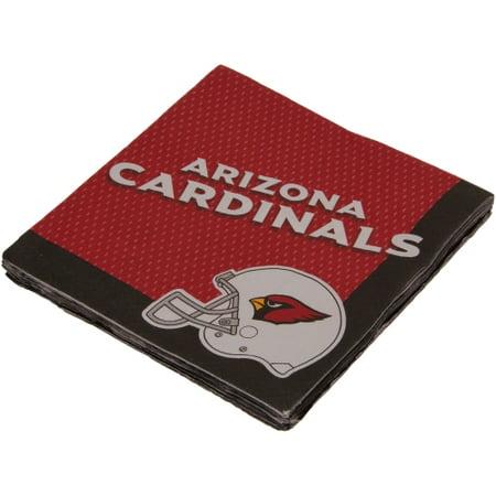 Arizona Cardinals Luncheon Napkins - No Size (Arizona Cardinals Party Supplies)