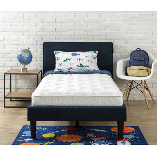 Slumber 1 Youth 6'' Bunk Bed Mattress with Moisture Barrier, Multiple Sizes by