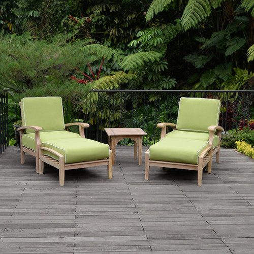 Cambridge Casual Monterey 5 Piece Sunbrella Conversation Set with Cushions