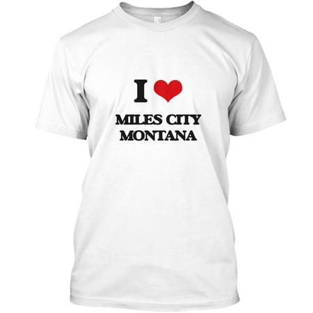I love Miles City Montana Hanes Tagless Tee T-Shirt - Virginia City Montana Halloween