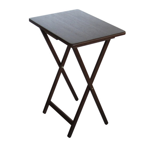 Mainstays Tray Table, Walnut