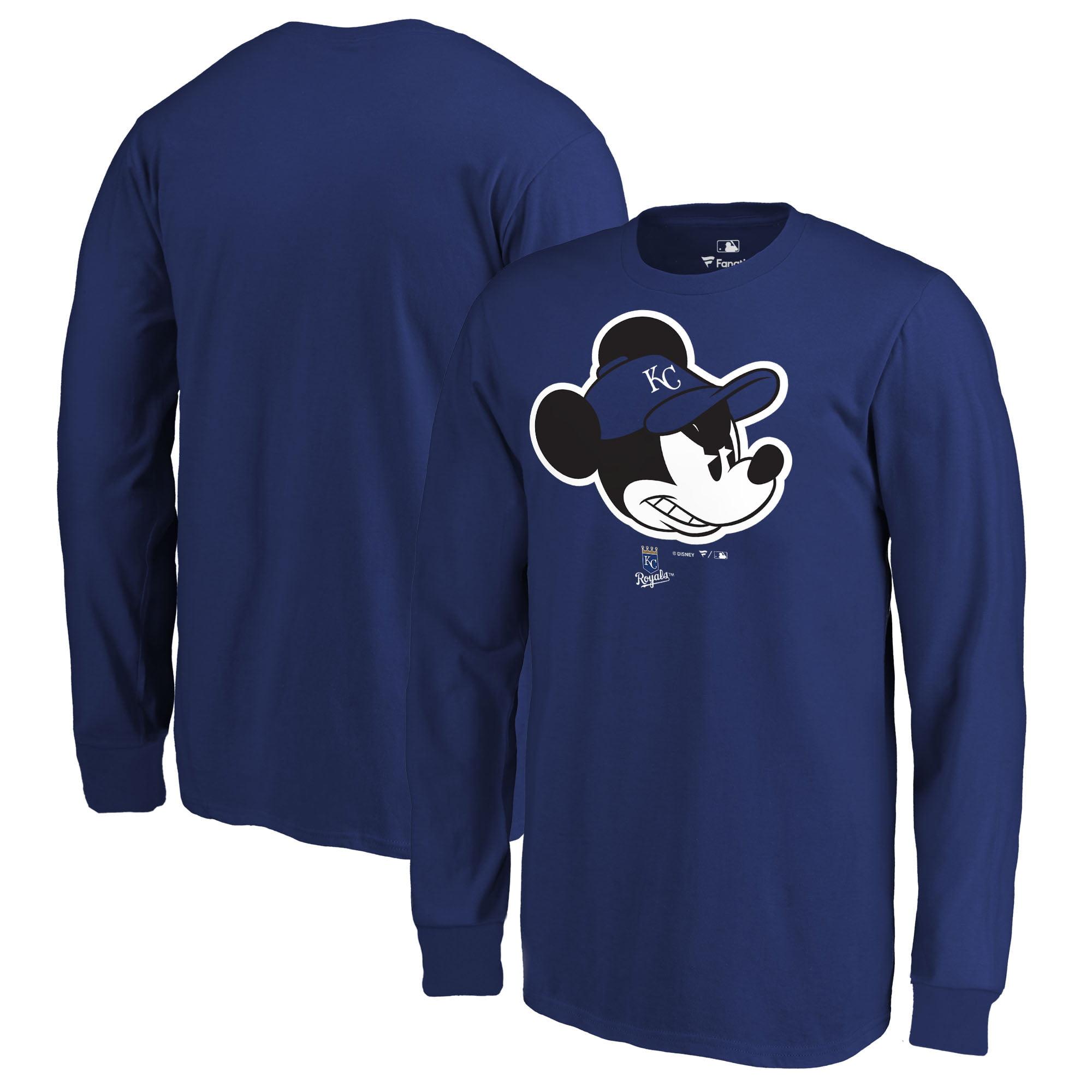 Kansas City Royals Fanatics Branded Youth Disney Game Face Long Sleeve T-Shirt - Royal
